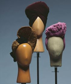 Hats and Turbans 1940s