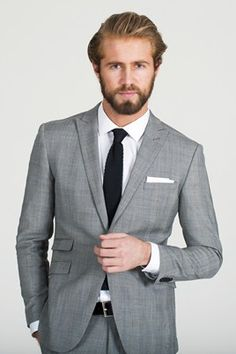 Prince of Wales Check Suit. #menswear #suit #barkers