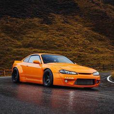 Nissan S15, Nissan 240sx, Rocket Bunny Kit, Best Jdm Cars, Silvia S15, Street Racing Cars, Nissan Gtr Skyline, Cool Sports Cars, Nissan Silvia