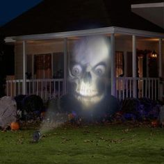 LightShow Animated Outdoor Projection Fade-Steady White Projector-71461 - The Home Depot