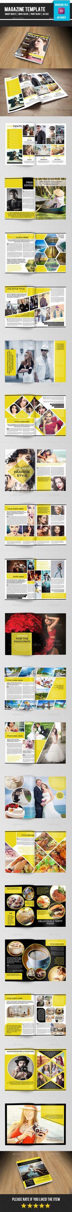 Multipurpose Magazine Template #design Download: http://graphicriver.net/item/multipurpose-magazine-templatev12/11752827?ref=ksioks