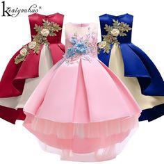 Girls Dress 2019 Christmas Kids Dresses For Girls Clothes Girls Party Dresses Children Clothing Princess Dress Costume For Kids