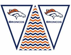 Broncos Banner Free Printable | Life In a Larger Story