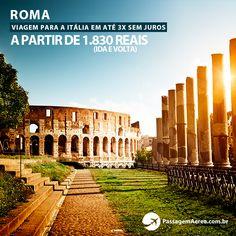 Passagem Aérea promocional paora Roma - Itália com a Ethiopian Airlines.  Confira os melhores preços no site: https://www.passagemaerea.com.br/promocional-roma-2015.html  #roma #italia #passagemaerea #viagem #turismo #ferias