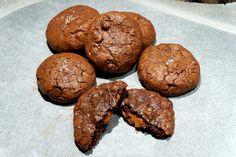 La Galleta Cuántica: Cookies de chocolate con relleno de Nutella :)