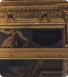 Nella sala del Maggior Consiglio di Palazzo Ducale, tra i ritratti dei Dogi, ce n'è uno coperto da un drappo nero...