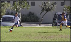 SCFC U13A - Trey out-running the left defense time after time.