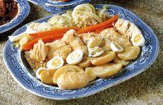 Natal - Bacalhau Cozido à Moda do Chefe - Roteiro Gastronómico de Portugal