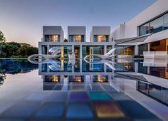 Современная вилла (Contemporary Villa) в Израиле от Nestor Sandbank.