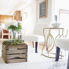 I found this old apple crate hanging in my parents' garage and had been wanting to add a little texture and some natural elements to this room  I'm loving the evolution of my home and style - it's so fun to get IG inspo and then incorporate it into my house!  Thank you all for the constant flow of amazing inspiration   #Interiordesign #Home #Homedecor #Homedesign #Interiors #Instahome #Interiordecor  #Interiorstyling #Decor #Myhome #Instadecor #Homestyling #Decorating #Homestyle…