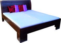 Posteľ s veľkým ohnutým čelom Bed, Furniture, Home Decor, Decoration Home, Stream Bed, Room Decor, Home Furnishings, Beds, Home Interior Design
