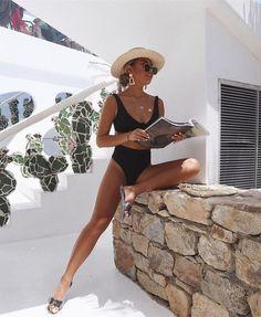 Black high waisted bikini perfection