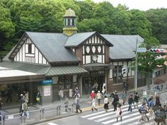 One of my favorite train stops on a Sunday: Harajuku Station, Tokyo...