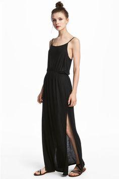 Maxi dress - Black - Ladies   H&M GB