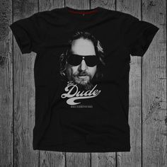Jeff Bridges, The Big Lebowski, Best Sellers, Movie, Trending Outfits, Tees, Awesome, Mens Tops, T Shirt