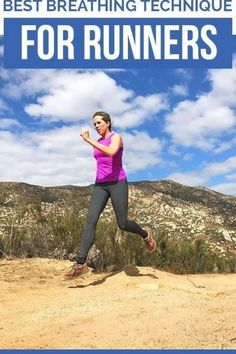 Best Breathing Technique for Runners - how to breathe while running #running Running On Treadmill, Running Workouts, Running Tips, Running Humor, Running In The Dark, Running Form, Core Muscles, Back Muscles, Increase Lung Capacity