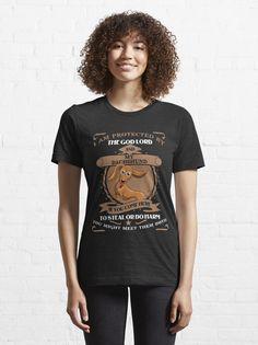 """I Am Protected By Dachshund Dog T-Shirt"" T-shirt by ledungx84 | Redbubble Dachshund Funny, Dachshund Quotes, Dachshund Shirt, Dachshund Gifts, Golden Dachshund, Dachshund Puppies, Chihuahua, Funny Gym Shirts, Mom Shirts"