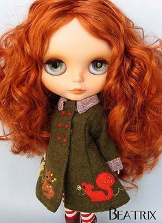 Oh man, I have such a thing for redheads. So pretty.... Beatrix✿⊱╮b l y t h e ❤ | Flickr - Photo Sharing! by MaryPoP