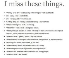 This is SO true. I can't even begin to explain the full extent if my nostalgia right now.