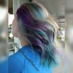 #thelegacysalon #hairbyhannahpeterson #hair #haircolor #color #vividcolors #crazyhair #crazycolors #joico #joicointensity #americansalon #modernsalon #stylistsupportstylist #behindthechair #spectrumhair #hairstylist_tribe #unicorntribe #heystyleplum #cosmetology #cosmetologist #blondehighlights #highlights #blondehighlights #curls #curlyhair #curly #hairstylist #haircut #redken #redkenobsessed