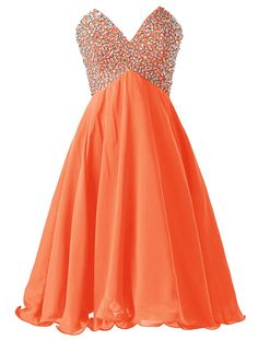 Dressystar orange homecoming dresses 2015,#v-neck homecoming dresses, #beading homecoming dress, #cheap homecoming dresses under 50,#unique homecoming dresses #homecoming dress patterns