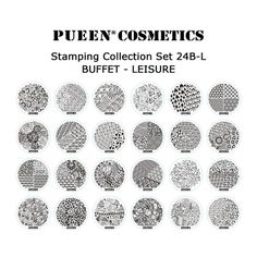 Stamping Plates Set 24B-L - Buffet Leisure