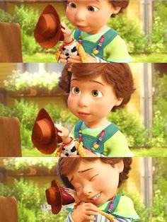 Saddest moment: Duh, the end of Toy Story 3. I bawled. I could have said when Mufasa dies or anything else, but this was a wicked tear jerker.