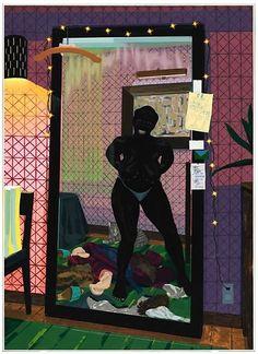 Black Panthers, Museum Of Contemporary Art, Modern Art, Painting Inspiration, Art Inspo, Art Quotidien, Art Occidental, Afro Art, Dibujo