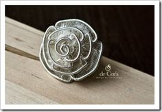 de Cor's Handmade Jewelry: Wire Jewelry Tutorial: Adjustable ROSE Ring by Kiki From BorneoQueen