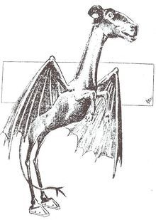 Jersey Devil - Legendary creature said to inhabit the Pine Barrens of southern New Jersey.  Thousands of sightings have been reported since the eighteenth century.  In 2008 alone, over ten encounters were reported.