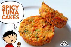 Spicy Tuna Cakes by Michelle Tam http://nomnompaleo.com  #paleo #dinner #tuna #cakes