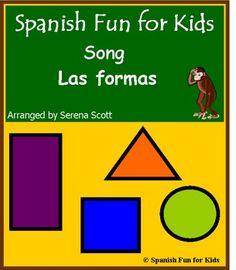 Spanish song: Las formas (shapes)