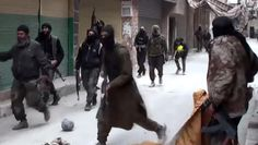 ISIS fighters push deeper into Syrian capital Damascus - CBS News