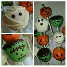 Halloween cakepops! #lushbakeshop #halloween #cakepops  Lush Bake Shop https://www.facebook.com/LushBakeShop