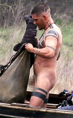 Profile: Tom Hardy Gets Naked on Taboo Set