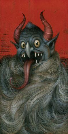 Kreepin Krampus by Dan May #art #gelaskins