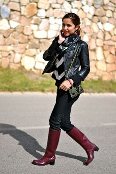 https://flic.kr/p/G61PFe | Burgundy boots