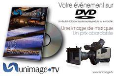 Votre captation sur un DVD