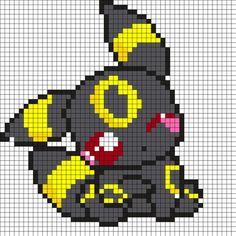 Cute_Zolteon_Pokemon by Nicky on Kandi Patterns Kandi Patterns, Hama Beads Patterns, Beading Patterns, Kawaii Cross Stitch, Pokemon Cross Stitch, Pixel Pokemon, Modele Pixel Art, Pixel Art Grid, Crochet Pokemon
