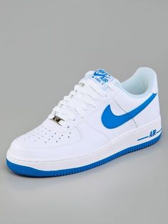 Nike Air Force 1 White Photo Blue