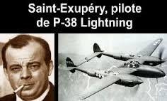 Výsledok vyhľadávania obrázkov pre dopyt antoine de saint-exupéry p-38