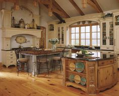 Old World and Tuscan Style Kitchens