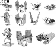 50% off only for today, Use coupon code dollarstore50    Star Wars 3D Metal Puzzles DIY Model Building Toy X-wing AT-AT R2D2 Fighter Millennium Falcon Model Toys Robot Children Gift //Price: $7.00 //       #LiveYoungLiveFree    #fashiongram #hijabfashion #streetfashion #kidsfashion #fashionweek #fashionaddict #fashionpost #fashionkids #fashionshow #fashionphotography #womensfashion #fashionlover #fashiondesigner #babyfashion #highfashion #fashiondesign #menfashion #fashiondaily