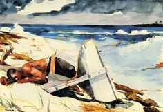 After the Hurricane by Winslow Homer #art