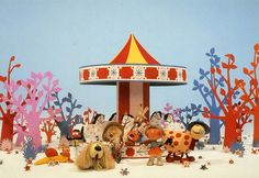 The Magic Roundabout (known in the original French as Le Manège enchanté ) the classic kids programme created in France in 1963 by Serge . 1980s Childhood, My Childhood Memories, Childhood Images, Family Memories, Old Tv Shows, Kids Shows, Magic Roundabout, Emission Tv, Retro Kids
