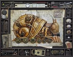 PunkinSnail's faster brother STEAMPUNK ZOO