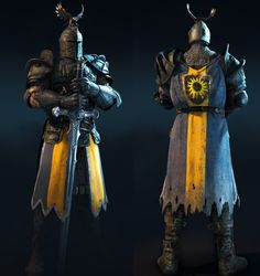 Warden from For Honor