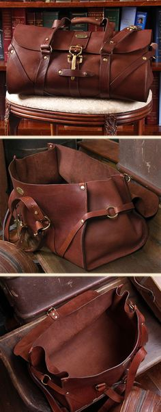 One's personal bag should have some sense of style and character. No. 1 Leather Grip made in Lynnville, TN USA by Col. Littleton, The Great American Leather Company. Perfect leather travel bag. - designer bags and purses, bags for men, pouch bag *sponsored https://www.pinterest.com/bags_bag/ https://www.pinterest.com/explore/bags/ https://www.pinterest.com/bags_bag/messenger-bags/ http://www.ebags.com/