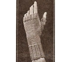 What is old is new again!!!! Vintage fingerless gloves mittens