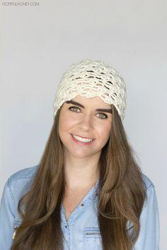 Vanilla Tea Cloche Hat - Crochet Pattern + Giveaway
